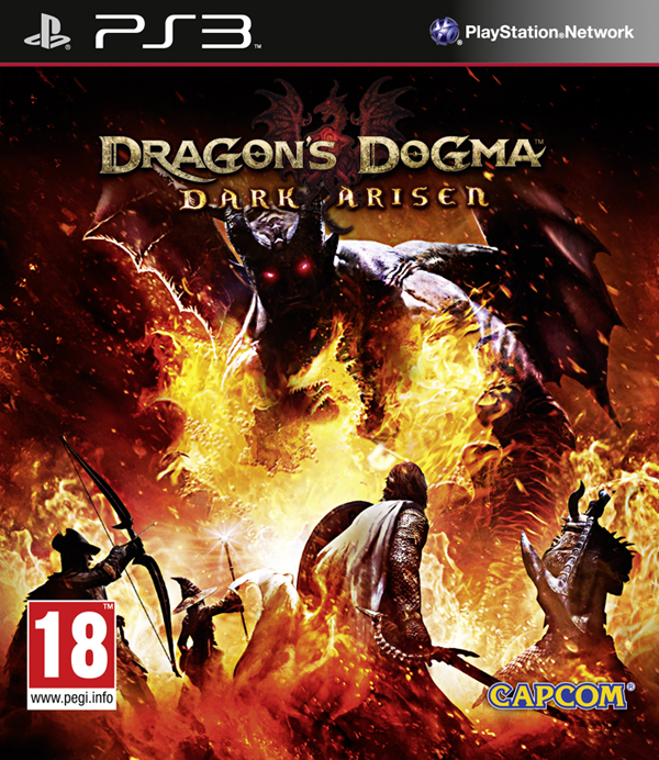 Dragon's Dogma - Portada Playstation 3