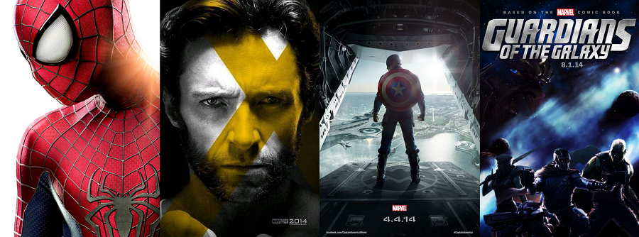 Superhero movies 2014