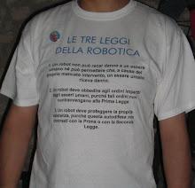 Maglietta le tre leggi della robotica