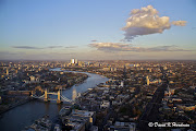 Looking east from The Shard Prints and digital copies are available here: