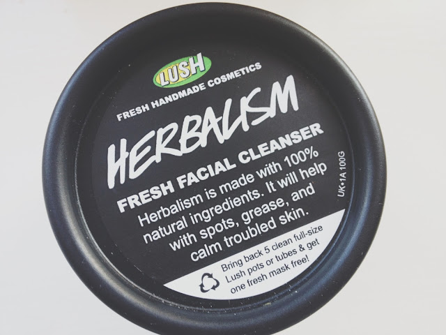 Herbalism, Lush Cosmetics, beauty, skin care, cleanser, fresh, natural skincare, natural, facial cleanser