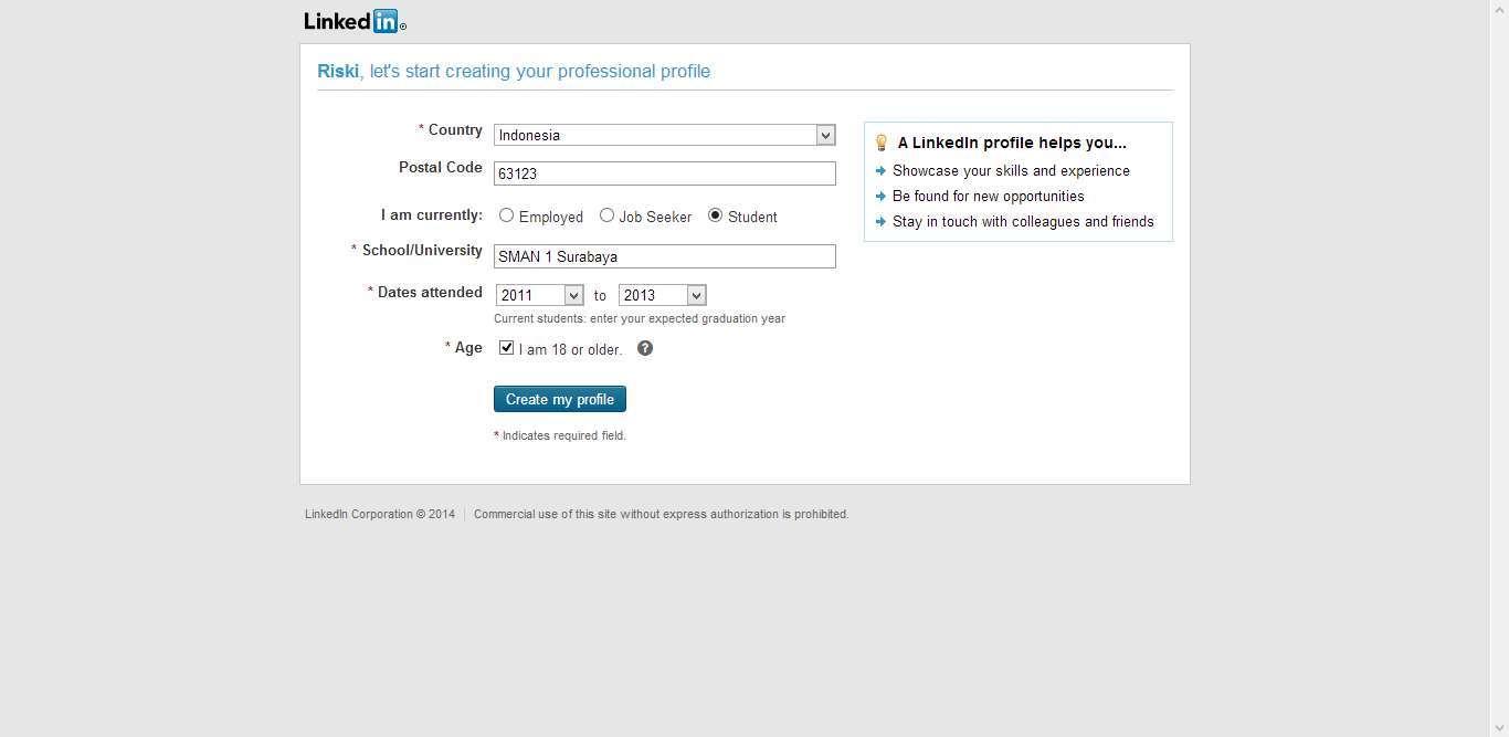 Cara Membuat Akun di LinkedIn dengan Mudah 2