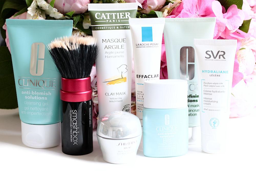 acné d'adulte quels produits de beauté cosmetique utiliser pour gerer la crise conseils