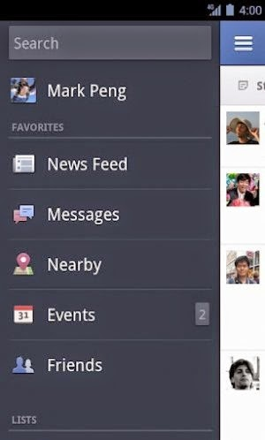 ANDROID FACEBOOK LATEST VERSION