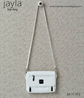 Miche Jayla White Hip Bag