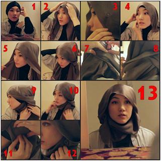 Cara Menggunakan Hijab Paris Modern