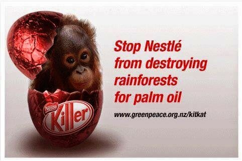 Say NO To Palm Oil: Save The Orangutans