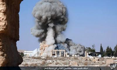 ΠΑΓΚΟΣΜΙΟ ΣΟΚ : TO ISIS ΑΝΑΤΙΝΑΞE ΤΟΝ ΝΑΟ ΤΟΥ ΒΑΑΛ – ΔΙΑ ΣΤΗΝ ΠΑΛΜΥΡΑ (ΦΩΤΟ)