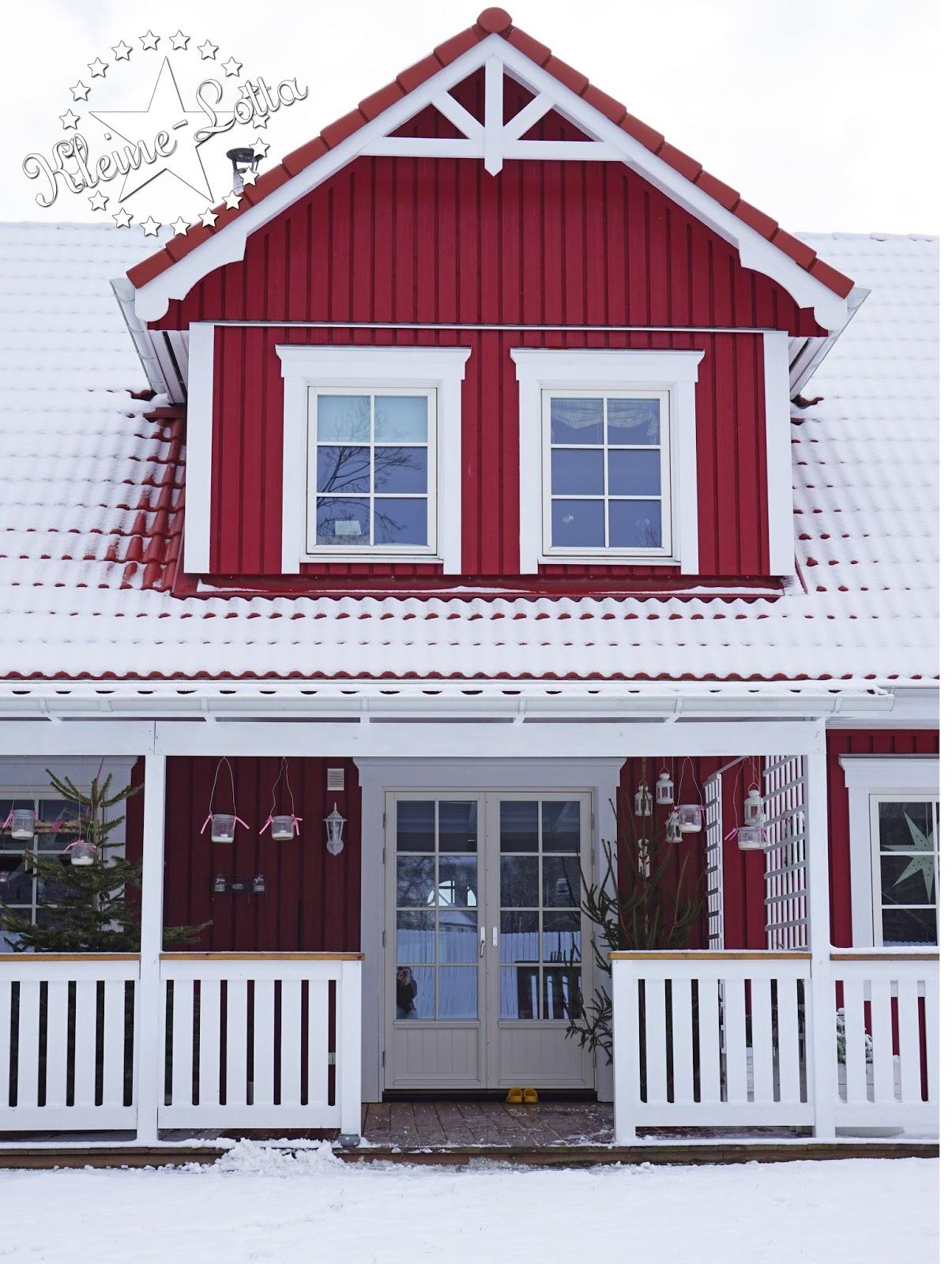 kleine lotta unser schwedenhaus schneegest ber und. Black Bedroom Furniture Sets. Home Design Ideas