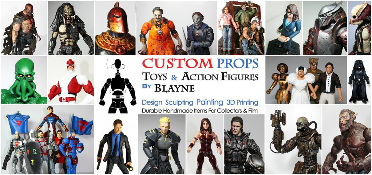 Custom Toys and Action Figures