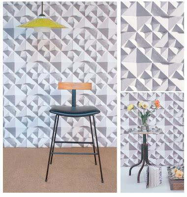 Geo wallpaper by Ella Doran featured by World Architecture News