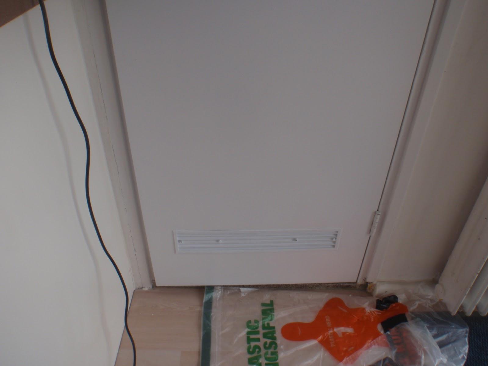 Ventilatie Badkamer Deur : Rooster deur badkamer