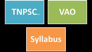 Tnpsc group 4 exam syllabus 2012 in tamil