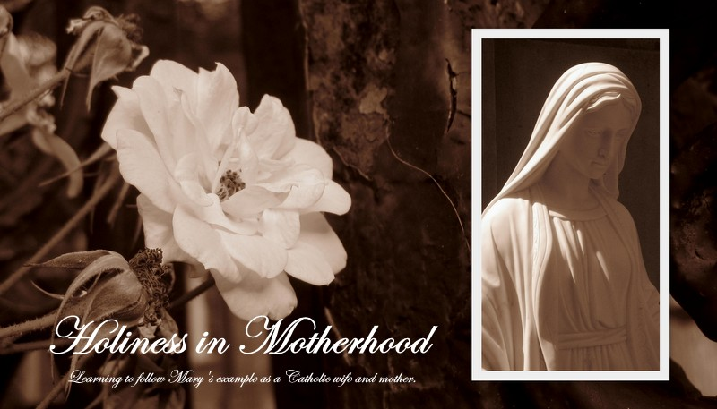 Holiness in Motherhood