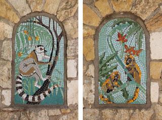 Old Monkey House Tiles