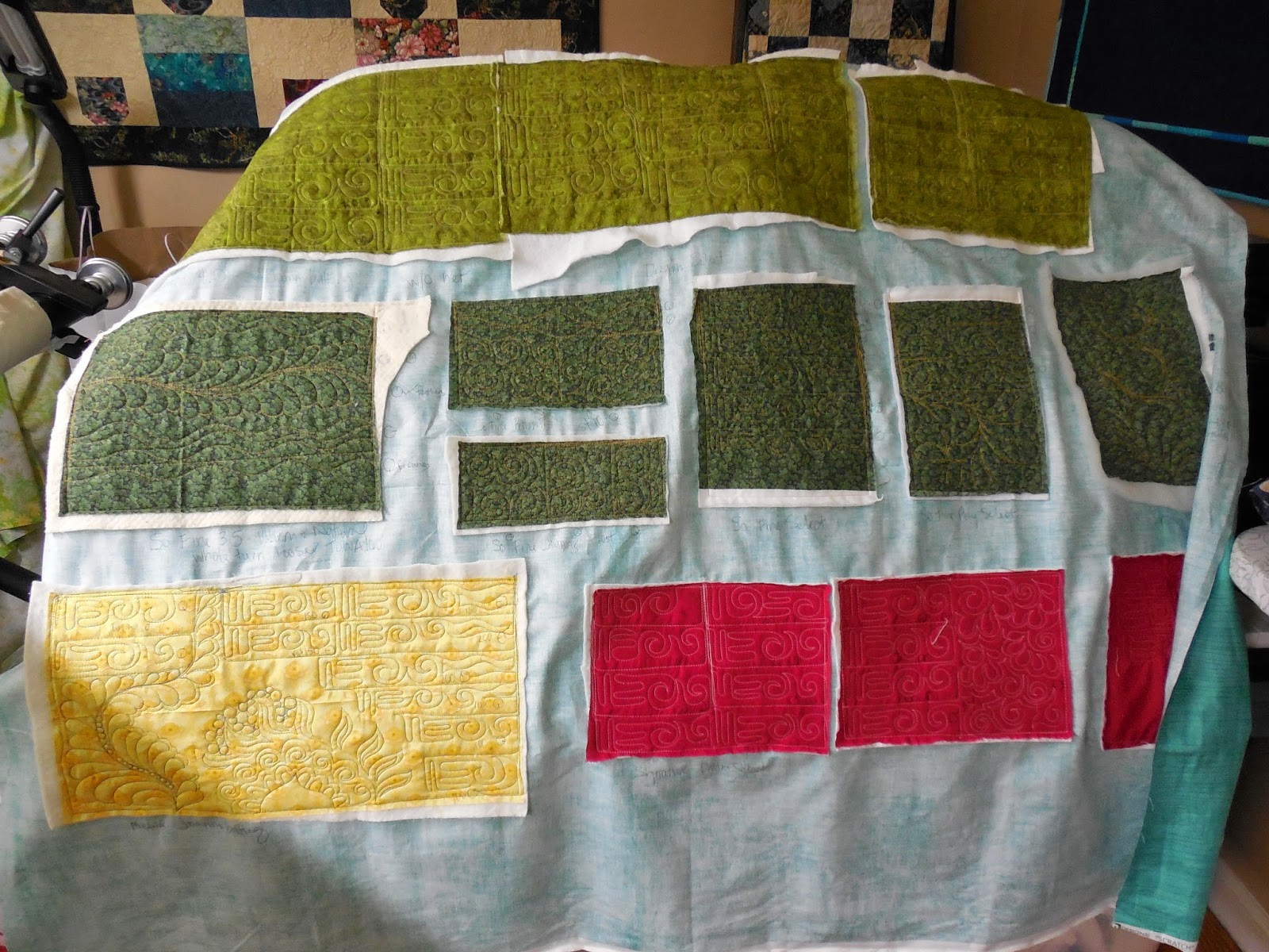 Tanderwen Quilts: Test Time and Zippered Leaders : quilt leaders - Adamdwight.com