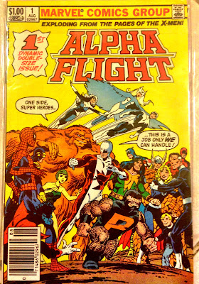 Alpha Flight #1 John Byrne