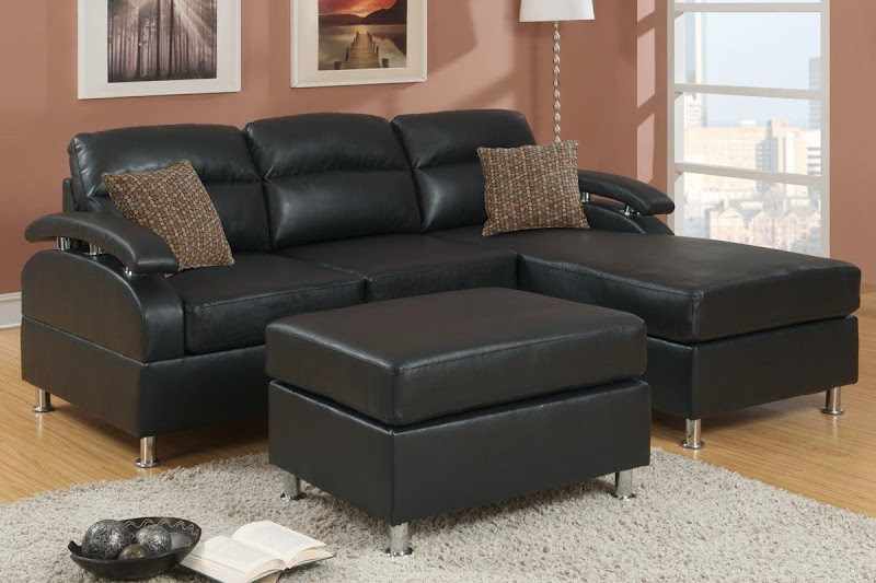 Small Leather Sectional Sofas with Chaise