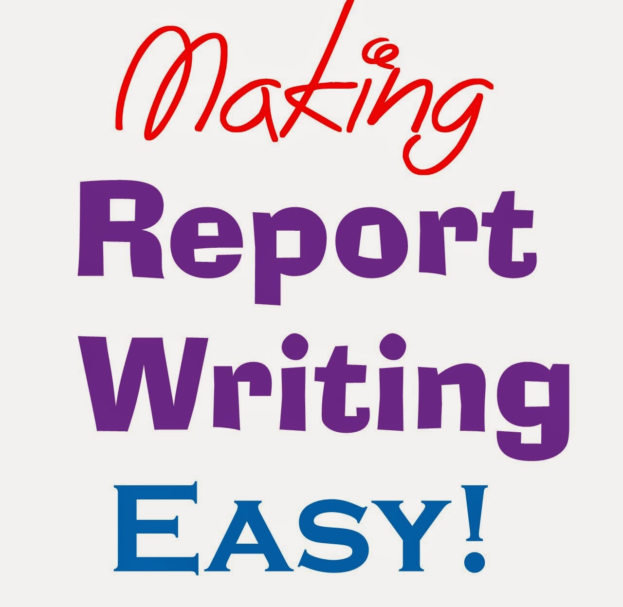 report writing tips for teachers This assignment is for a formal report and contains statistics you will collect to support your information about why people go on tips before you start think.