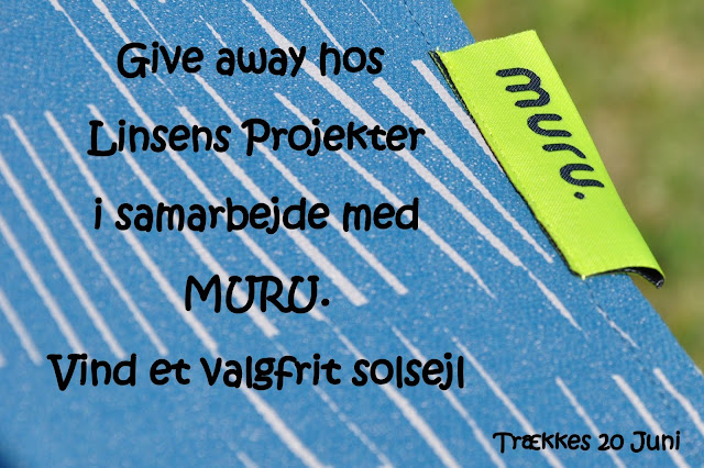 Give away Muru solsejl