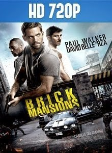 Brick Mansions 720p Latino 2014