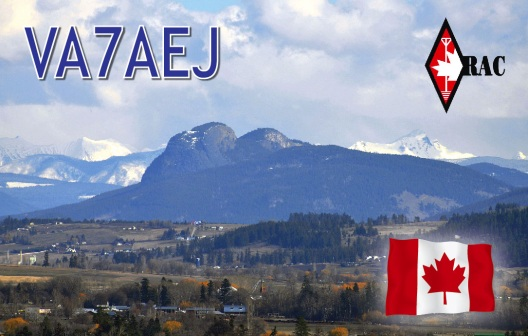 QSL Card (front cover)