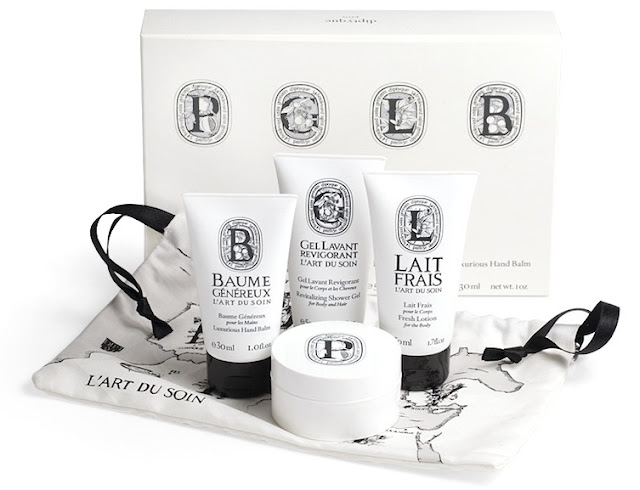 Diptyque Art of Bodycare Travel Set