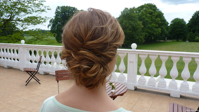 upięcie do ślubu Weronika słupek fryzjer