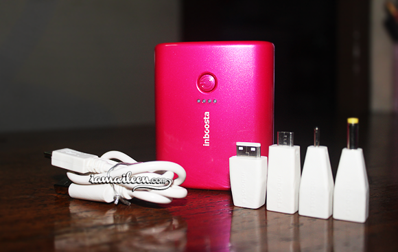 I am Aileen - Inboosta Travel Booster Pink Adapters