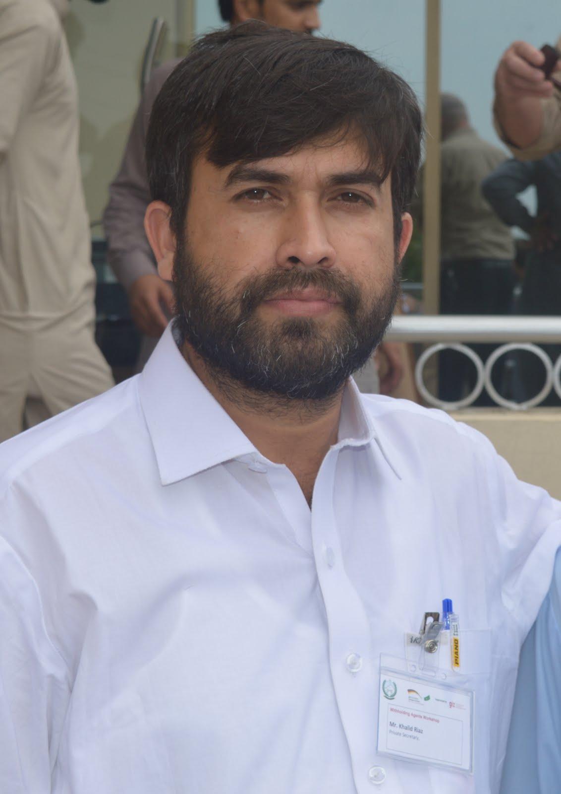 Khalid Riaz SVP PS Welfare Association