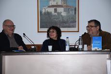 Presentación en Casa de la Cultura de Carlet con Bernat Nogués y Àngel Martínez Moreno