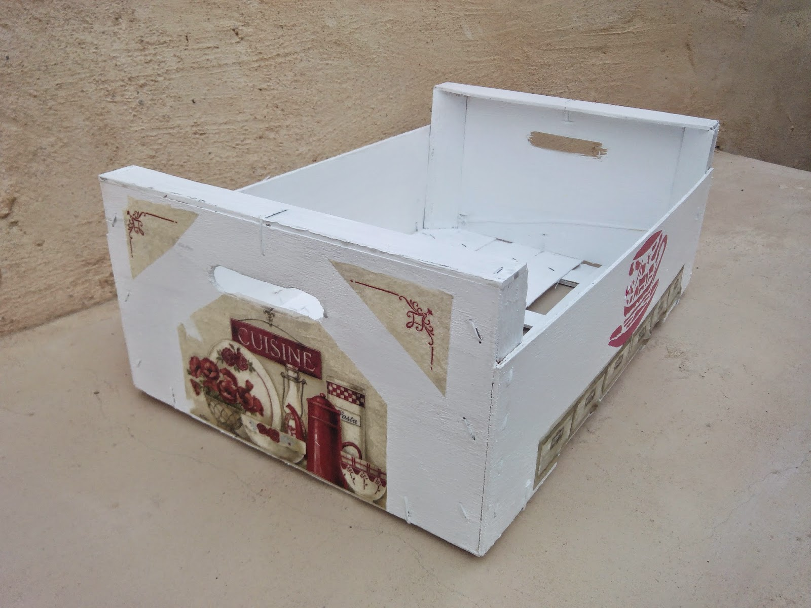 Recikla arte noviembre 2014 - Decorar con cajas de frutas ...
