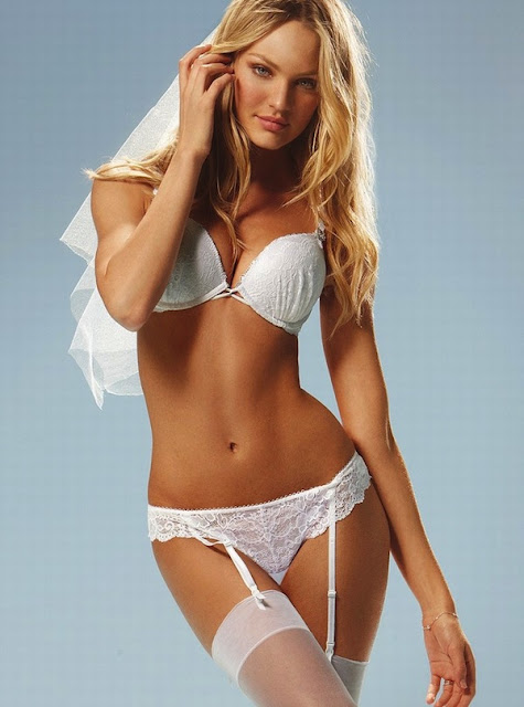 Candice Swanepoel Victoria's Secret Sexy Bride Collection