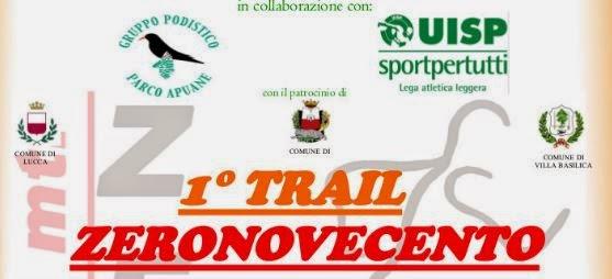 RISULTATI Trail Zeronovecento 2015
