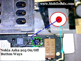 Asha 203 On/Off Button Ways Jumper Solution