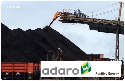 Loker Terbaru 2015, Info karir Adaro energy, Peluang kerja Tahun 2015