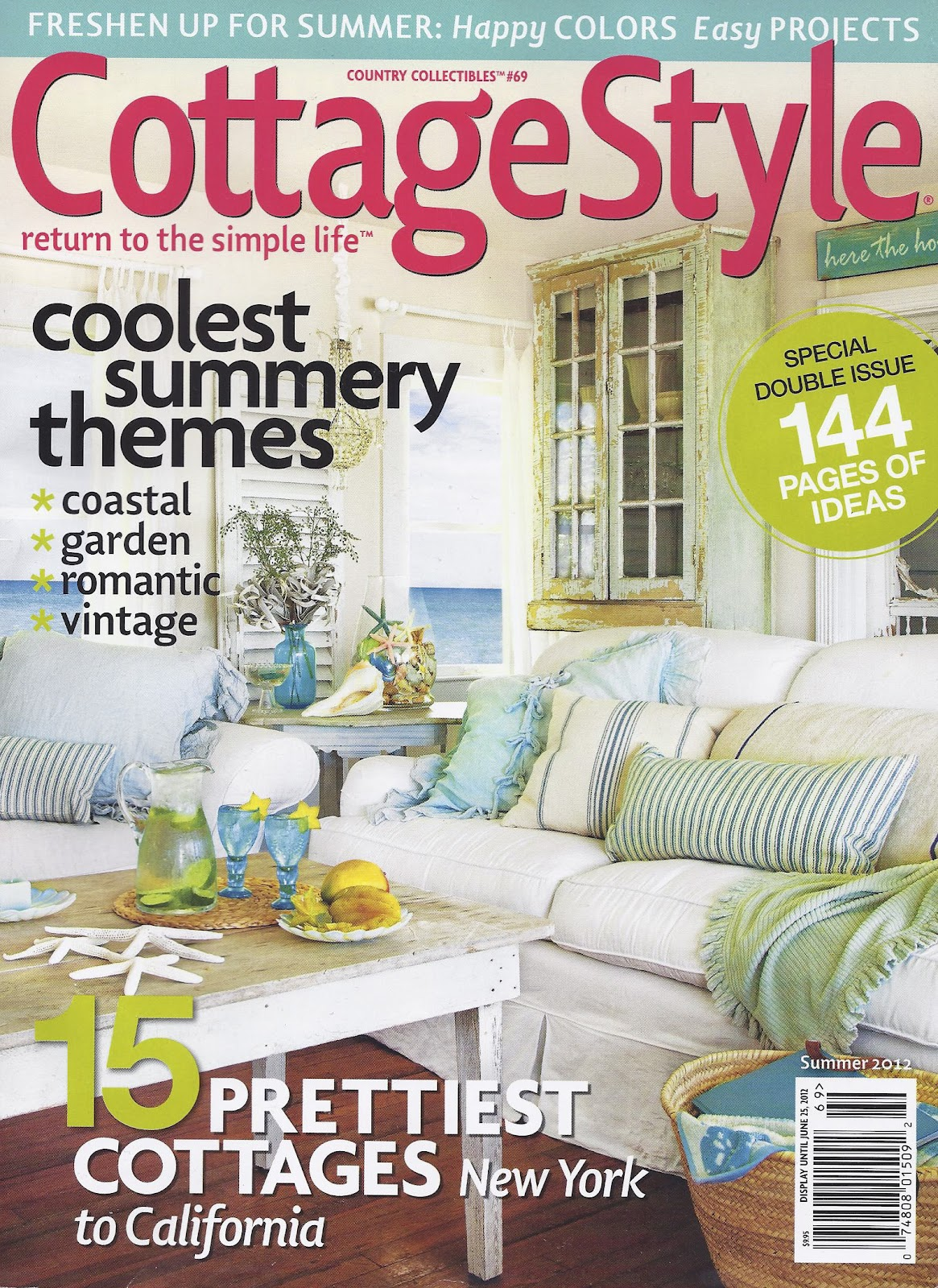 Dustylu cottage style jeanne d arc living for Cottage design magazine
