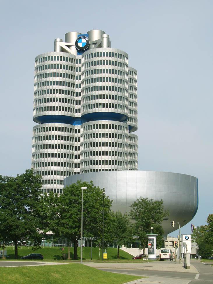 bmw logo history. blue and white BMW logo or