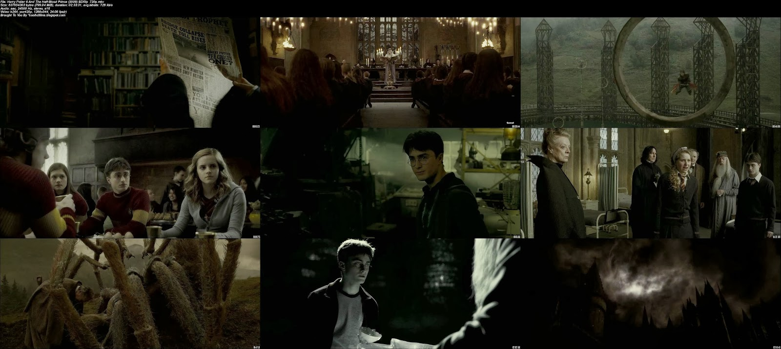 free hd films download harry potter 6 and the halfblood