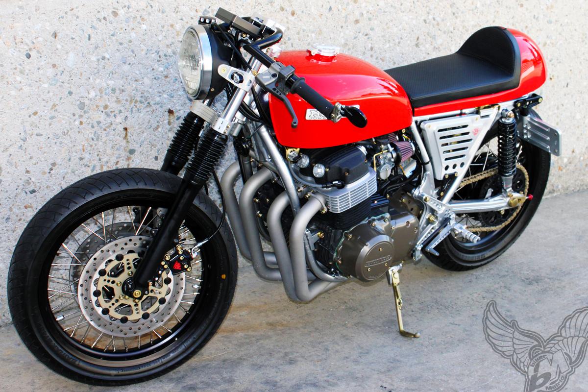 Honda Cb750 Cafe Racer Joker Machine Bikermetric