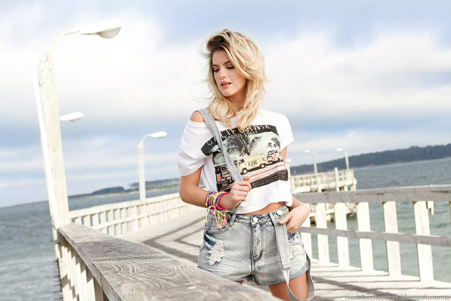 Moda verano 2015 Af Jeans tendencia en ropa de moda mujer 2015.