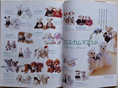 Welcome dolls in book
