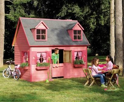 Atelier rue verte le blog cabanes de jardin pour enfants - Cabane jardin atelier besancon ...