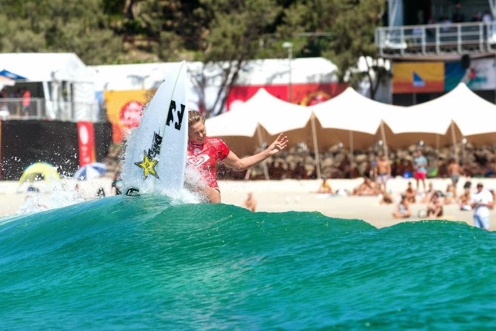 3 Roxy Pro Gold Coast 2015 Laura Enever Foto WSL Kelly Cestari