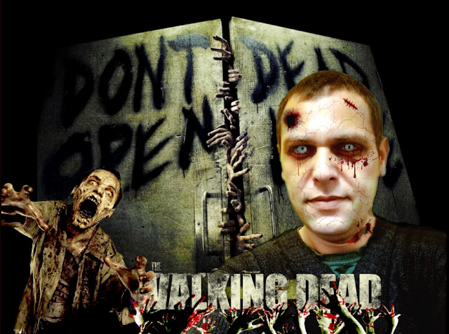Photoshop Walking Dead