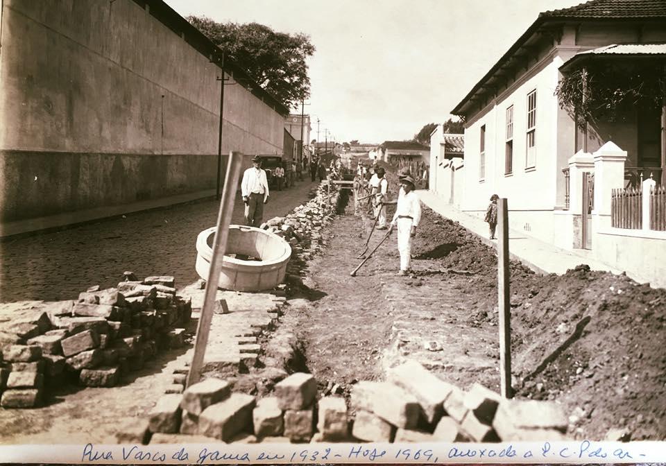 Rua Vasco da Gama, hoje anexada a EPCAR de Barbacena -1932