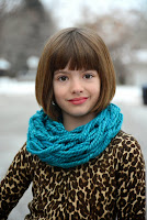 Tutorial: Arm Knit Child's Cowl