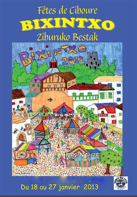 Fête de la Bixintxo 2013 à Ciboure
