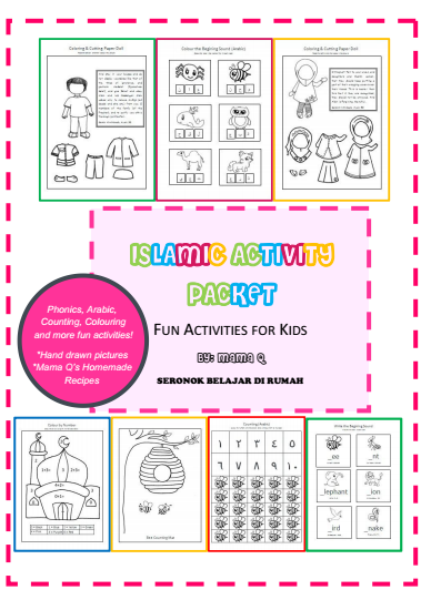 Softcopy Islamic Activity Packet