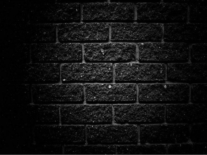 Brick box image brick wall wallpaper for Black and white wallpaper for walls
